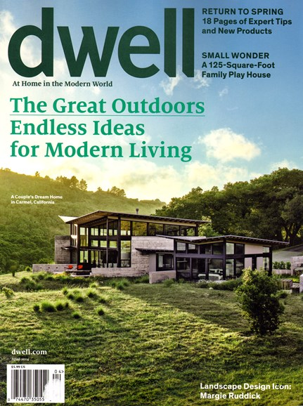 Dwell Cover - 4/1/2014