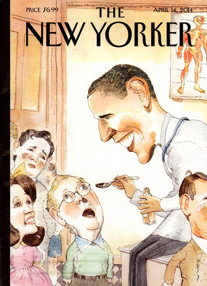 The New Yorker Cover - 4/14/2014