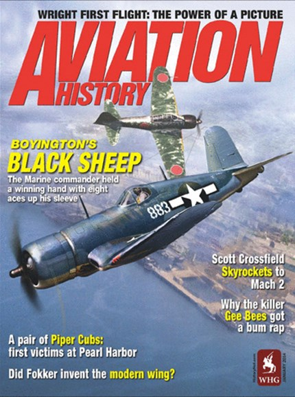 Aviation History Cover - 1/1/2014