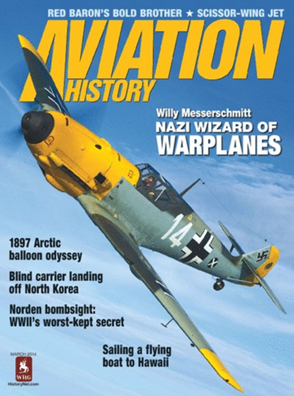 Aviation History Cover - 3/1/2014