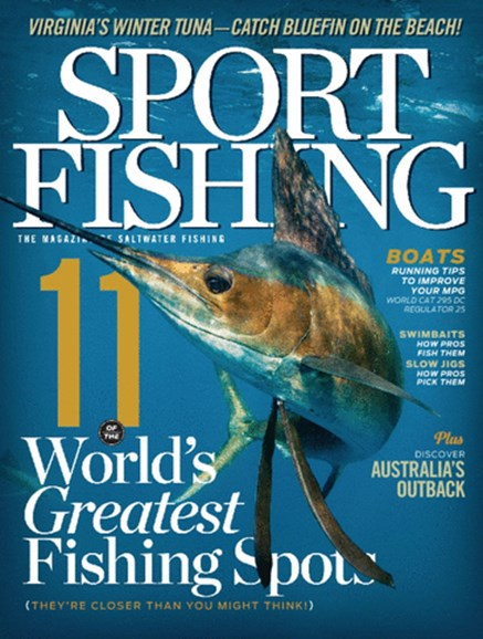 Sport Fishing Cover - 1/1/2014