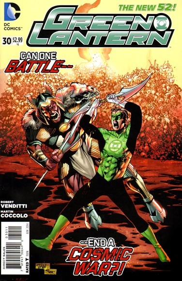 Green Lanterns Cover - 6/1/2014
