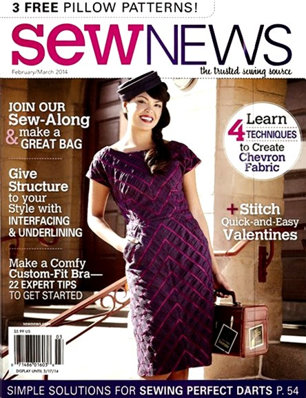 Sew News Cover - 2/1/2014