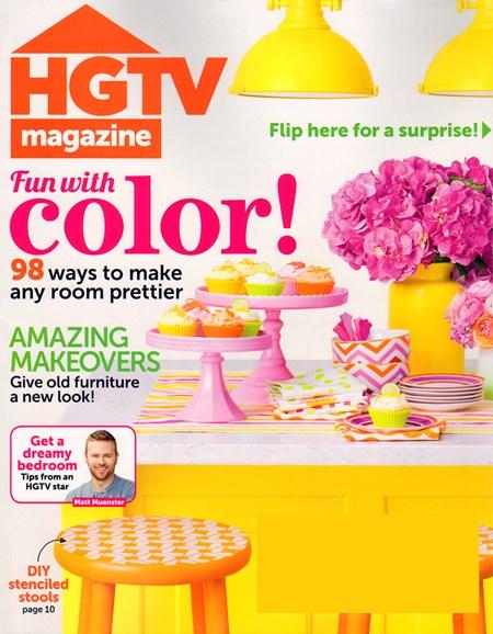 HGTV Cover - 5/1/2014