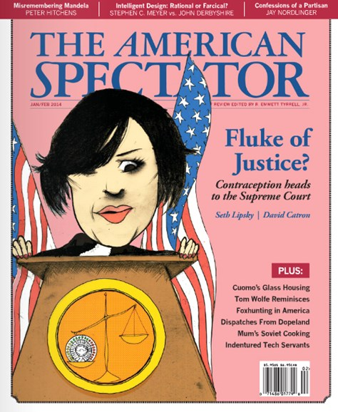 The American Spectator Cover - 1/1/2014