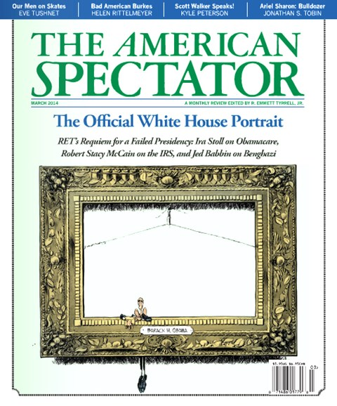 The American Spectator Cover - 3/1/2014