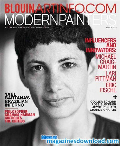 Blouin Modern Painters Cover - 3/1/2014