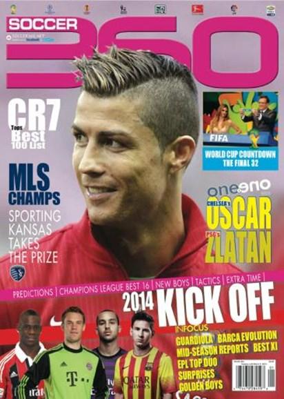 Soccer 360 Cover - 1/1/2014