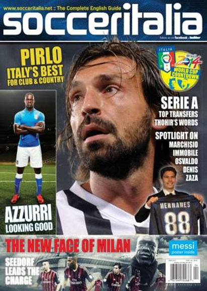 Soccer Italia Cover - 4/1/2014