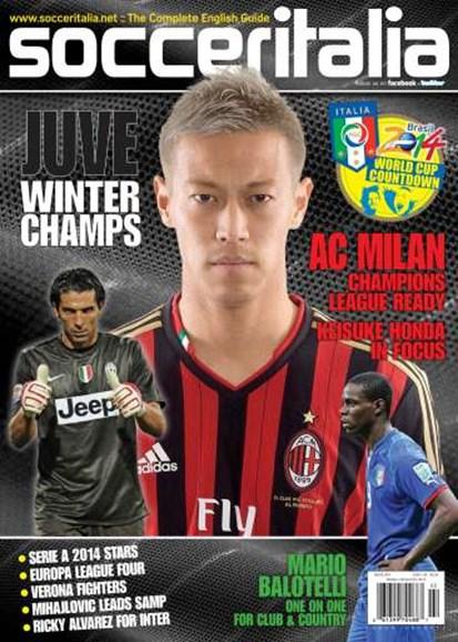 Soccer Italia Cover - 2/1/2014