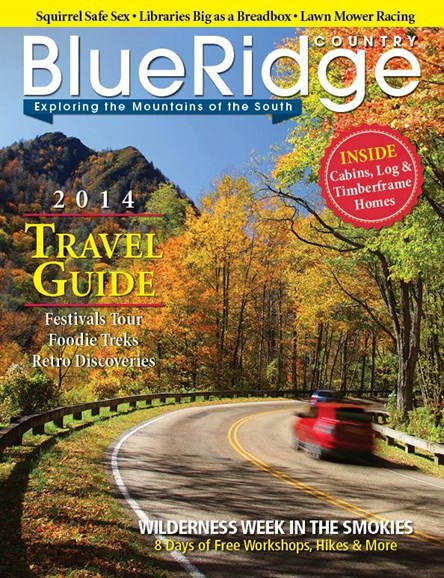 Blue Ridge Country Cover - 1/1/2014