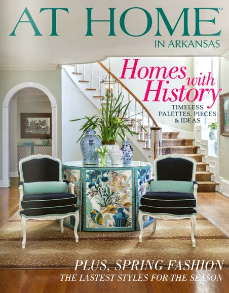 At Home In Arkansas Cover - 4/1/2014