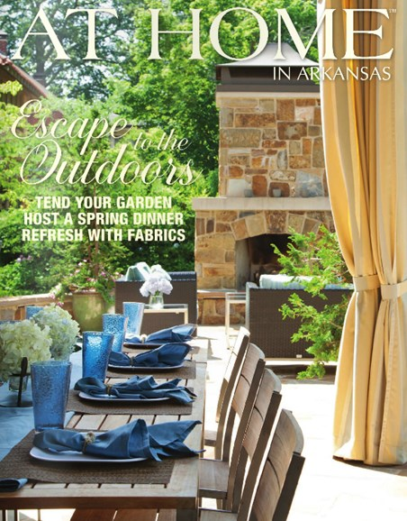 At Home In Arkansas Cover - 3/1/2014