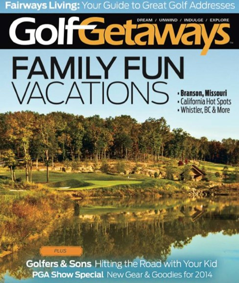 Golf Getaways Cover - 2/1/2014