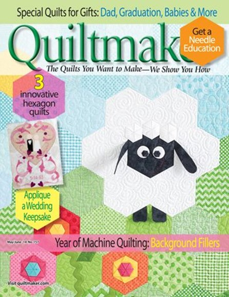 Quiltmaker Cover - 5/1/2014