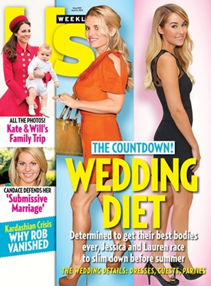 Us Weekly Cover - 4/21/2014