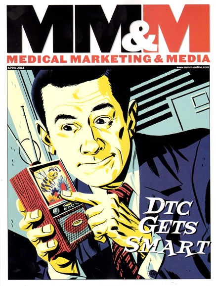 Medical Marketing & Media Cover - 4/1/2014