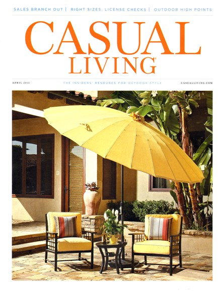 Casual Living Cover - 4/1/2014
