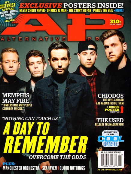 Alternative Press Cover - 5/1/2014