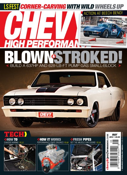 Chevy High Performance Cover - 5/1/2014