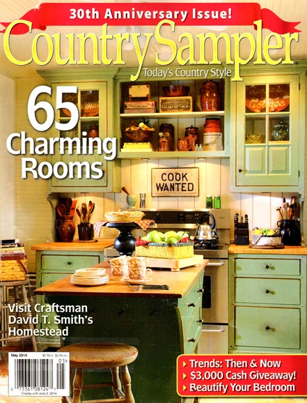 Country Sampler Cover - 5/1/2014