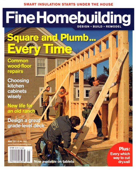 Fine Homebuilding Cover - 5/1/2014