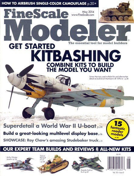 Finescale Modeler Cover - 5/1/2014