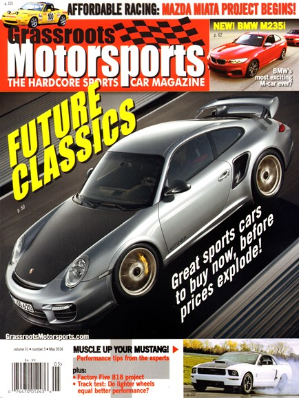 Grassroots Motorsports Cover - 5/1/2014