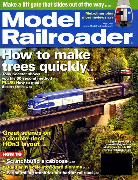 Model Railroader Cover - 5/1/2014