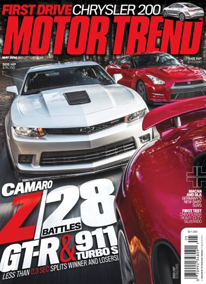 Motor Trend Cover - 5/1/2014