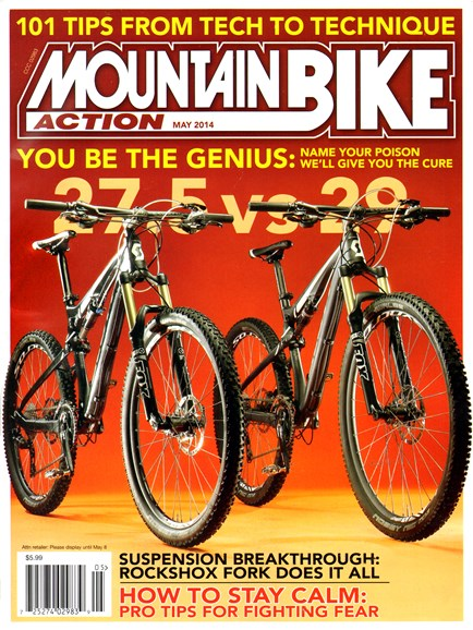 Mountain Bike Action Cover - 5/1/2014