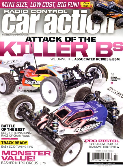 Radio Control Car Action Cover - 5/1/2014