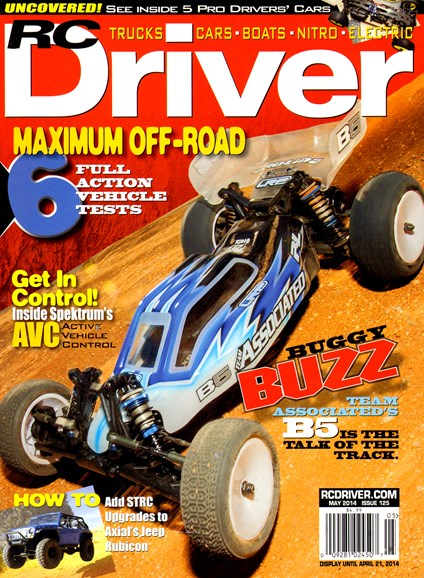 RC Driver Cover - 5/1/2014