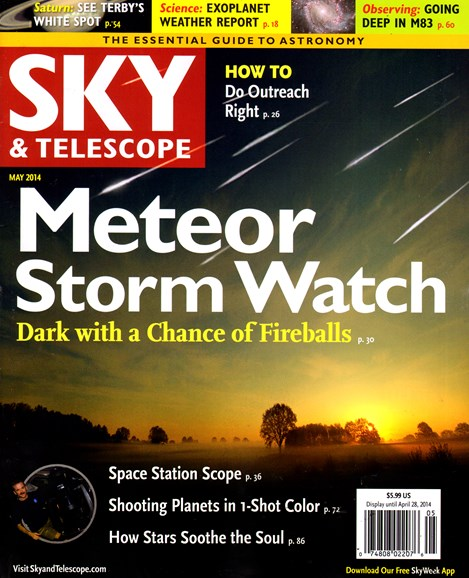 Sky & Telescope Cover - 5/1/2014