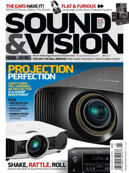 Sound & Vision Cover - 5/1/2014
