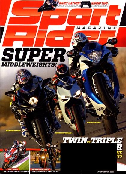 Sport Rider Cover - 5/1/2014