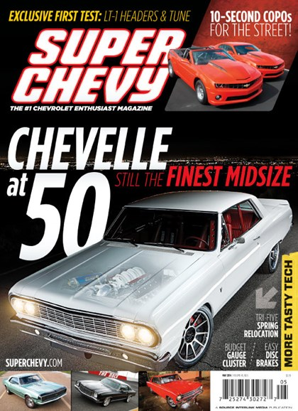 Super Chevy Cover - 5/1/2014