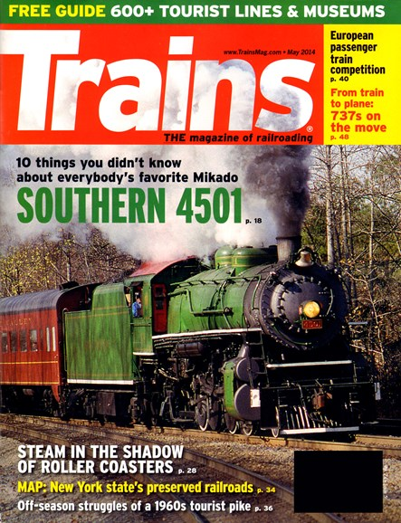 Trains Cover - 5/1/2014
