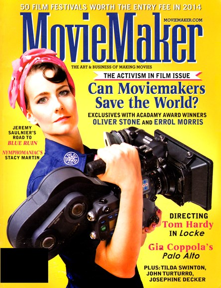 Moviemaker Magazine Cover - 4/1/2014