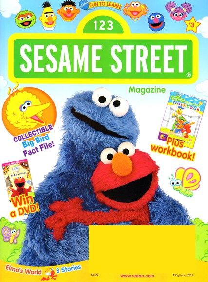 Sesame Street Cover - 5/1/2014