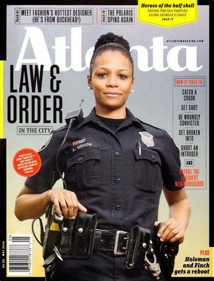 Atlanta Magazine Cover - 5/1/2014