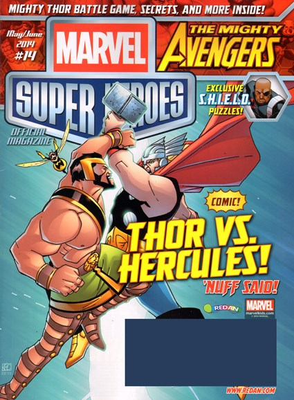 Marvel Super Heroes Cover - 5/1/2014