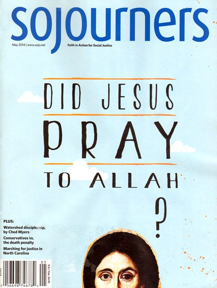 Sojourners Cover - 5/1/2014