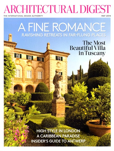 Architectural Digest Cover - 5/1/2014