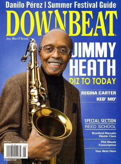 DownBeat Cover - 5/1/2014