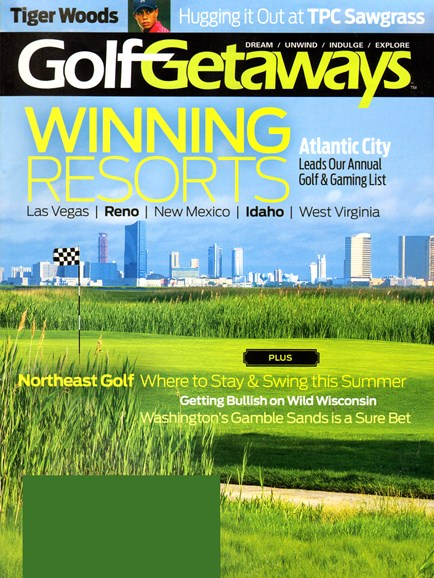 Golf Getaways Cover - 6/1/2014