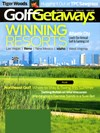 Golf Getaways Magazine | 6/1/2014 Cover