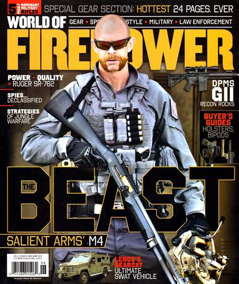 World of Firepower Cover - 5/1/2014