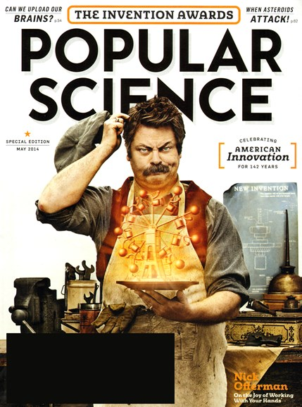 Popular Science Cover - 5/1/2014