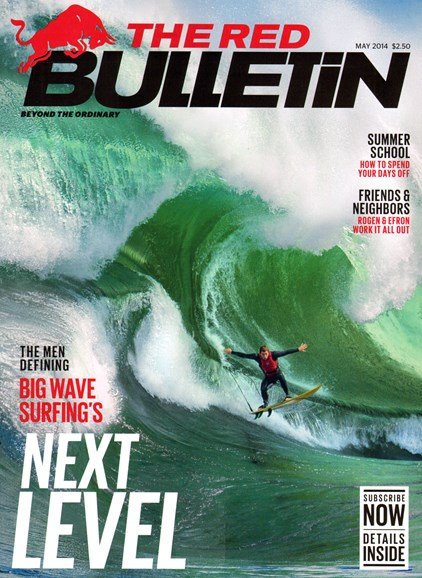 The Red Bulletin Cover - 5/1/2014